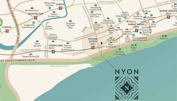 Nyon Location Map Thumbnail