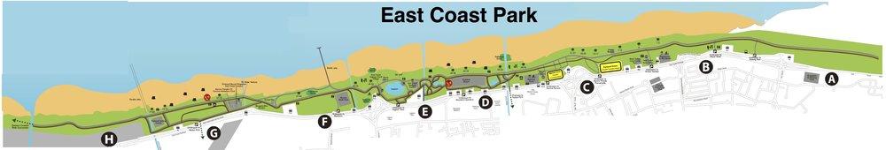 East Coast Park Full Map