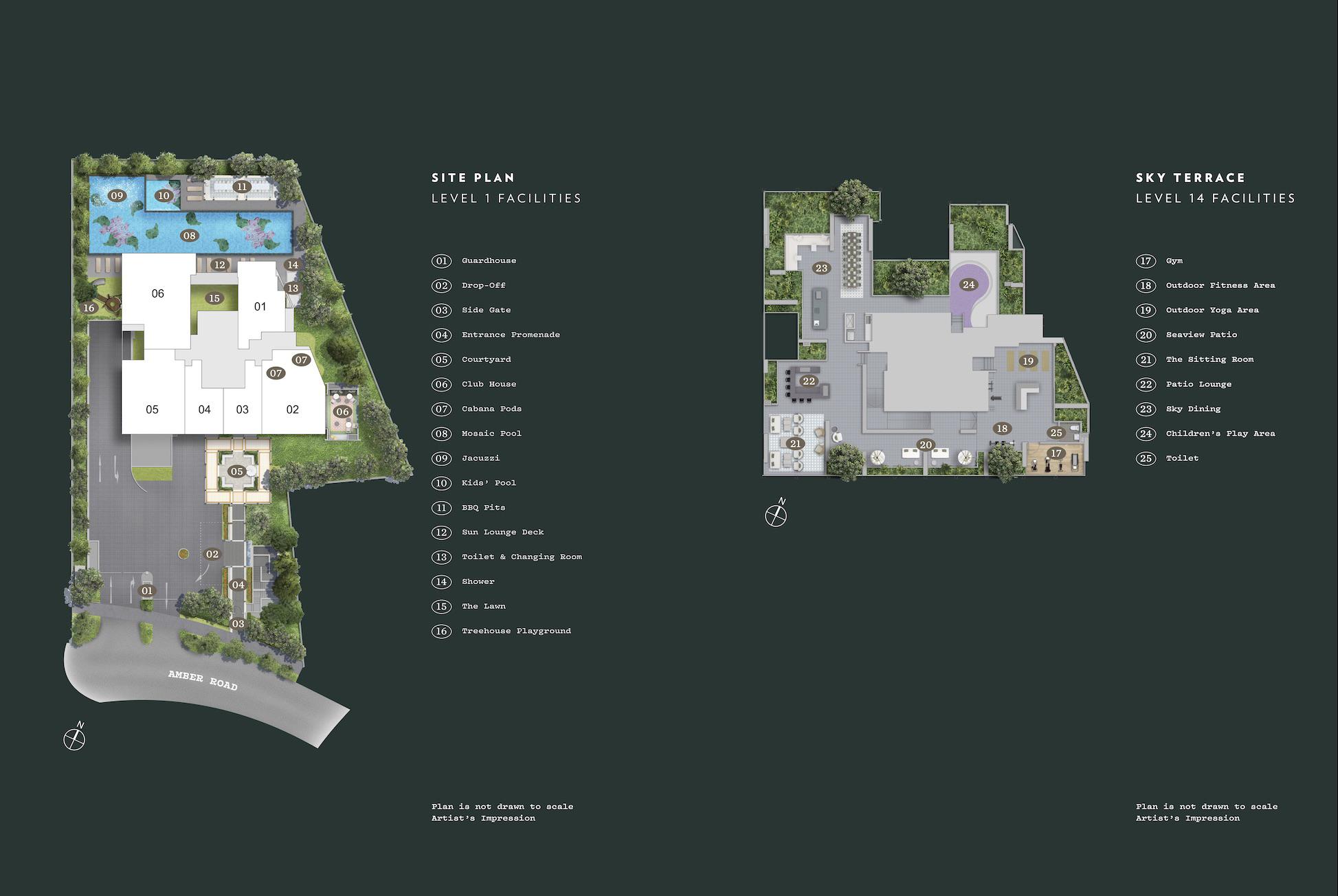 Nyon Site Plan Singapore